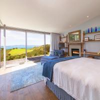 Waiheke Luxury Blue and Green Rooms