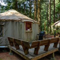South Jetty Camping Resort Yurt 4
