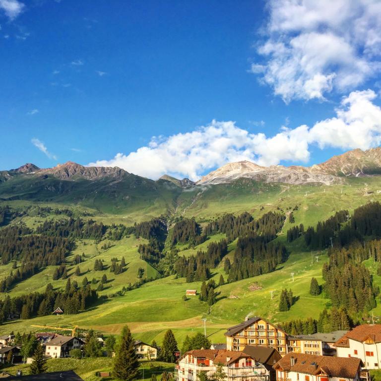 Advantage Car Rentals: Hotel Alpina Parpan, Switzerland