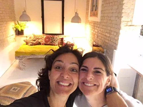 Laura y Carol