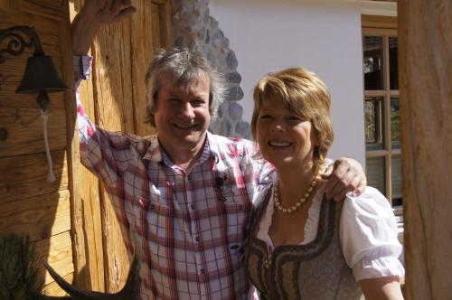 Ihre Gastgeber Hanne und Heinz Moll