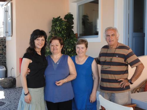 Irini and my family