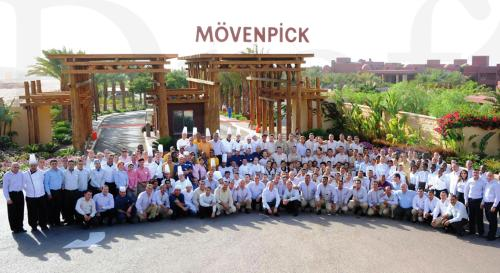 Movenpick Resort & Spa Tala Bay team