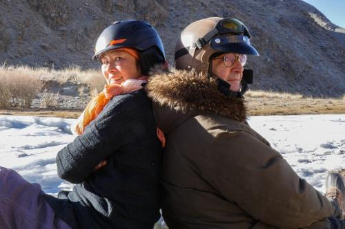 The 2 of us... in Mongolia