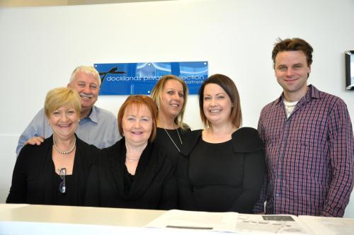 Peter, Lyn, Elizabeth, Michelle, Josh and Beverley.
