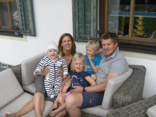 Claudia, Bernhard, Maxima, Paul und Pius