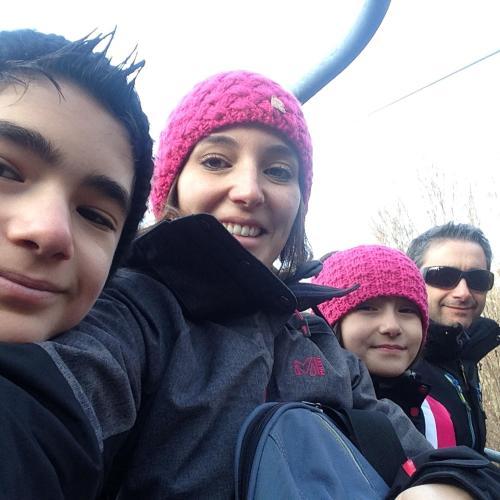 Christophe, Marion,Emma et Lucas