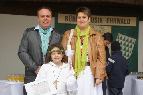 Barbara, Friedrich und Beatrice Luttinger