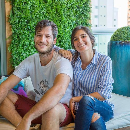 Eduardo Borges dos Reis e Leticia Barreiro Crestani