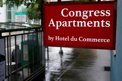 Congress Apartment by HOtel du Commerce