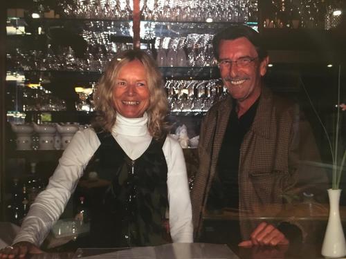 Eigentümer Christine und Peter Lippmann