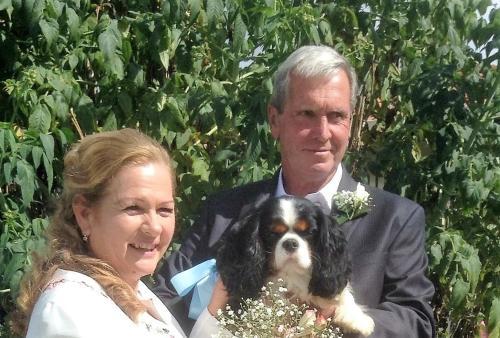 Ruth, Fred & Bob the dog