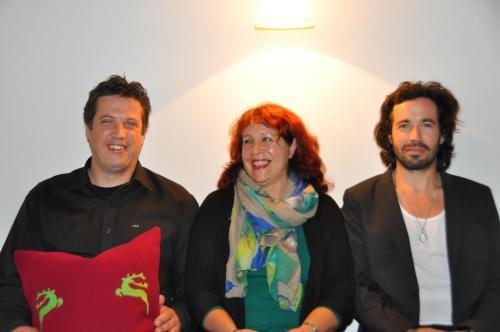 Adelinde, Daniel und Mario Greber