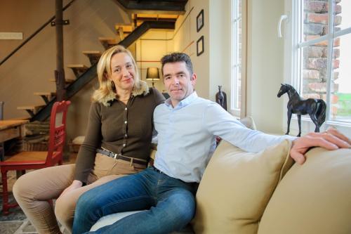 Régine et Ludovic Vanhoutte