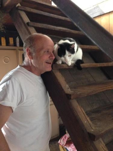 Eber e gatto Charu