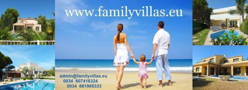 family villa rentals