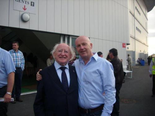 The day I met the President of Ireland