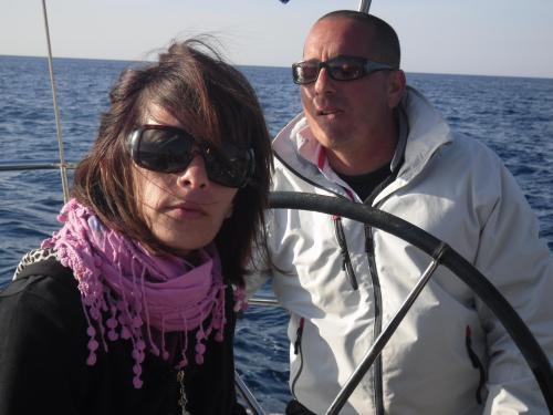 Melanie and Philip Sapiano
