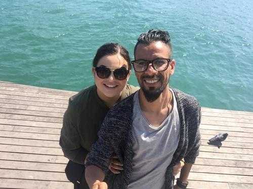 Elizabeth & Walid