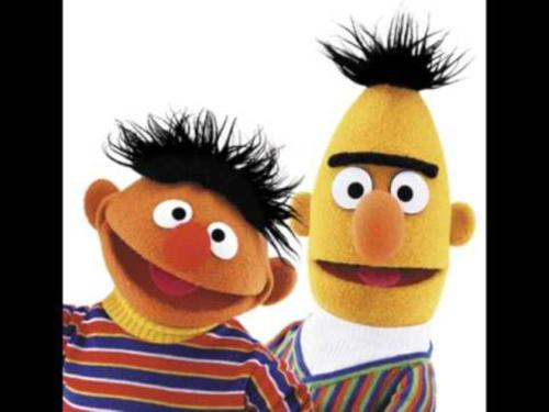 Ernie and Bert, our  Staff