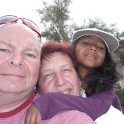 ERIC, ANNE et notre fille