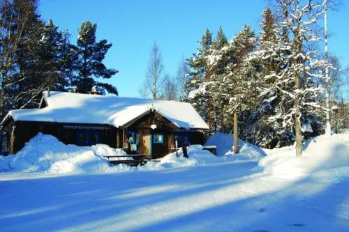 Joängets Fjällgård, våffelstuga och reception
