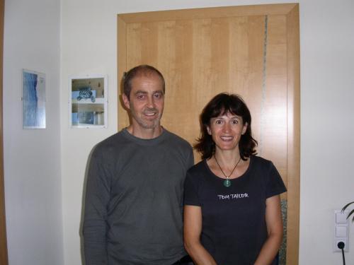 Ihre Gastgeber Astrid und Gebhard Kneisl
