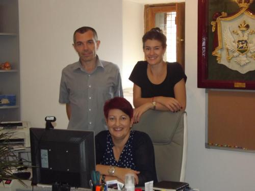 Dragica, Marina i Ivan