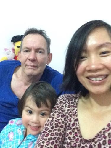 Hans, Lan and Maica