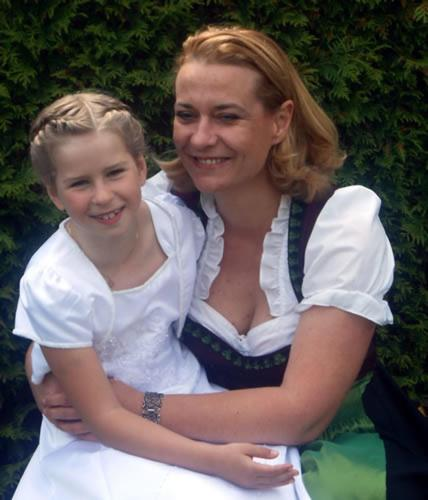 Elisabeth Fasching + Tochter