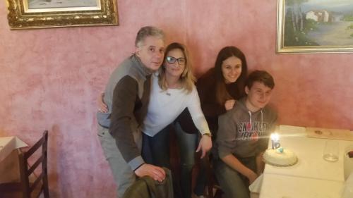 Renato e la sua famiglia