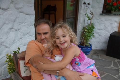 Axel Wiesner & daughter Emely
