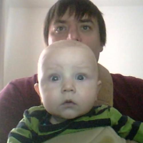 On the net.. Like father , like son...
