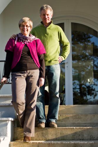 Cathy et Hubert Delobel