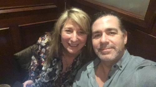 Karen with Partner Nigel