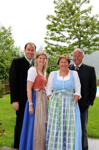 Elisabeth, Heinz, Simone und Markus Herrmann