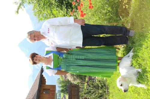 Ruth + Robert mit Lady