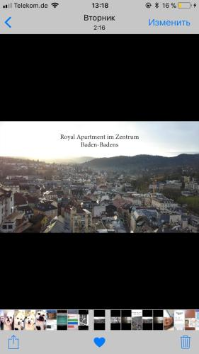 Royal Apartment im Zentrum Baden-Badens