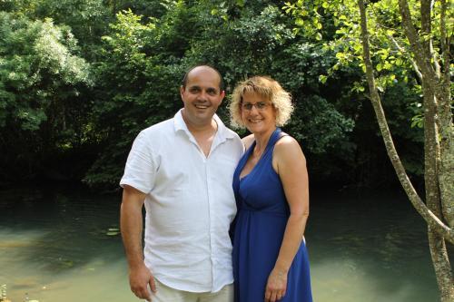 Nathalie et Christophe