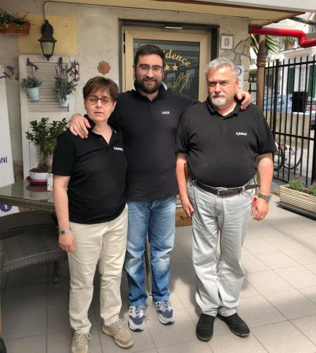 Gabriella, Luca e Carlo
