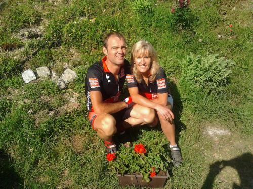 Martha und Jürgen ihre Gastgeber