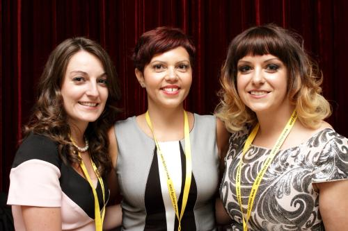 Olga ( Sales Manager) , Justyna (Sales Exec ) & Lucie ( Front Office Manager )