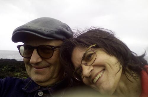 José Maria e a namorada