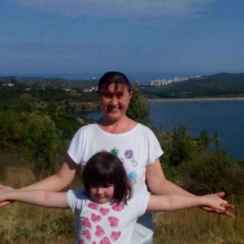 Наталья и дочерью Софией