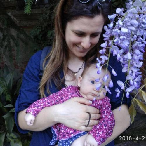 Elena & little Agata