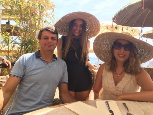 Roxana, Pascal et Nastassia