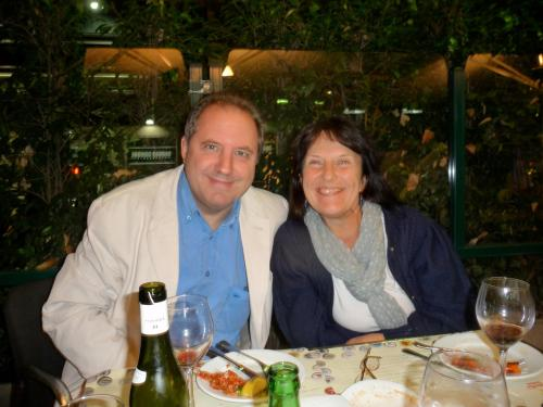 Diana and Aubyn Howard