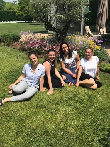 Chiara, Marta, Alessia, Sabrina