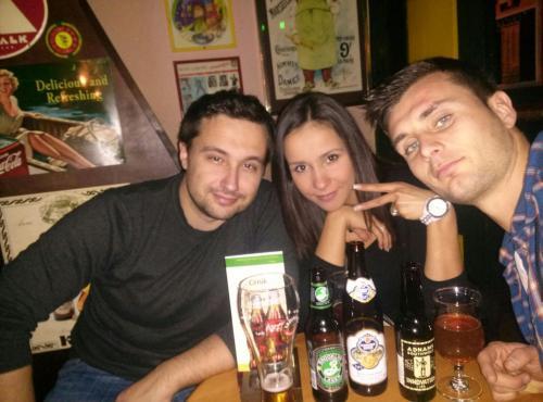 Mario, Adriana and Hrvoje