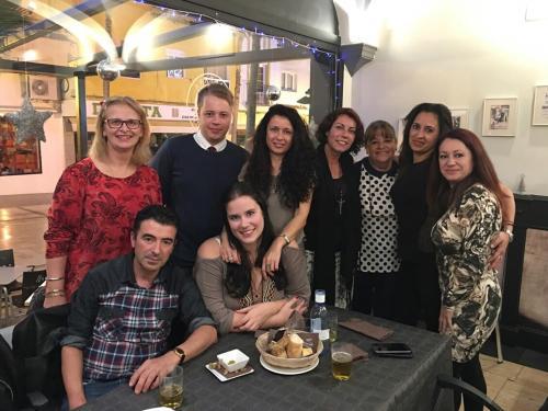 Petra, Thomas (Erasmus), Gemma, Raquel (rachel), Loli, Nieves, Ana Mari, Fali y Almudena,